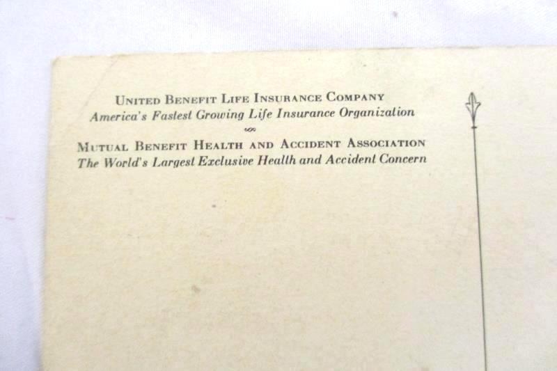 United Benefit Life Insurance Company Vtg Postcard Home Office Omaha Neb Unused