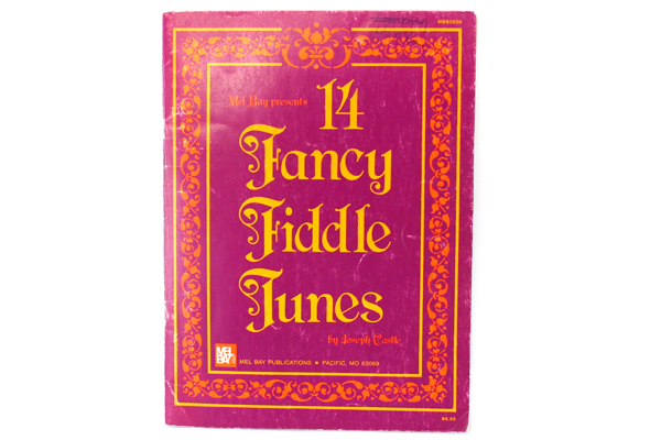 Mel Bay Presents 14 Fancy Fiddle Tunes by Joseph Castle