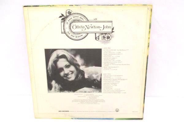 Olivia Newton John If You Love Me Let Me Know 1974 Vinyl 12in LP Record MCA-411