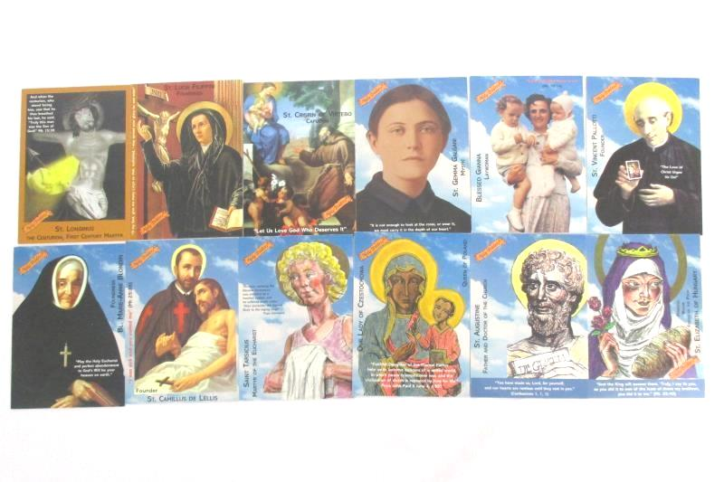 Holy Traders Set of 24 Cards 2001 Aziriah Co Powered By The Holy Spirit Set 3