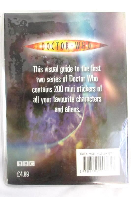 2007 BBC Doctor Who Mini Sticker Book 200 Sticker Collection