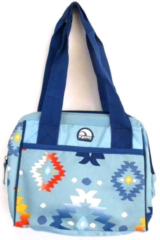 Lot of 4 Insulated Lunch Bags Box Igloo Artic Zone Fulton Bag Co Black Zipper