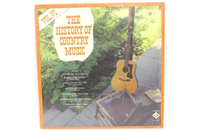 Set of 3 12 Inch Vinyl Records The History of Country Music Volumes Vol IV V VI