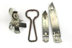 Lot of 4 Vintage Can and Bottle Openers Vaughan Acurate Profile