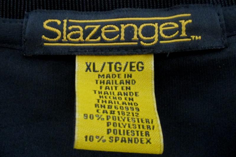 Slazenger Men's Athletic Pullover Vest Top Black V Neck Polyester Blend Size XL