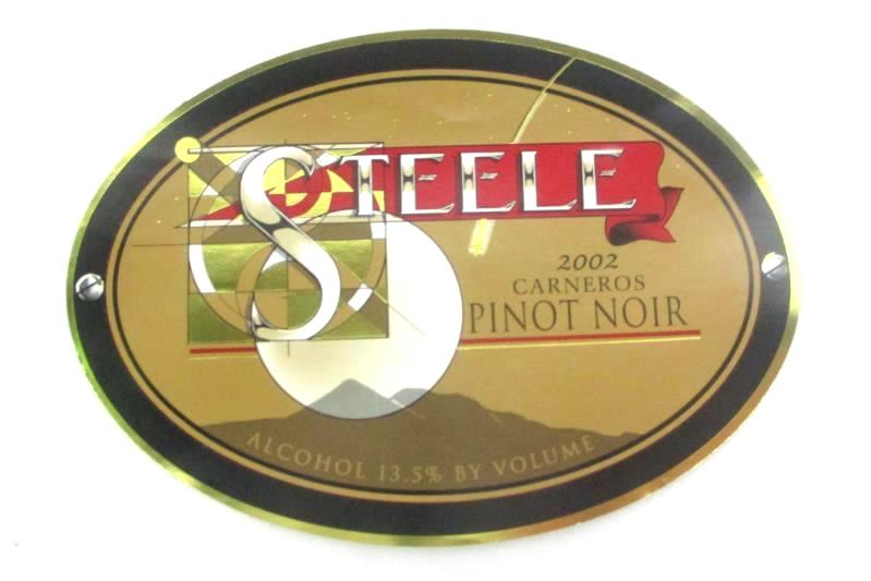 Lot of 11 Wine Bottle Labels From Bogle Adastra And Steele