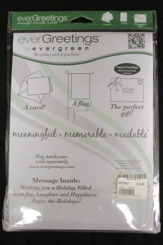 Lot of 2 everGreen everGreeting Meaningful Mailers Christmas Labrador Retriever
