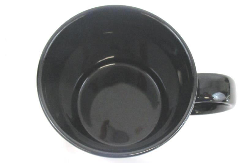 200 Years First Fleet Commemorative 1987 Coffee Mug Cup Black Gold W R Kearney