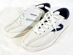 Treton Nylite 15 Plus Leather Sneakers Shoes White Women's Size 4