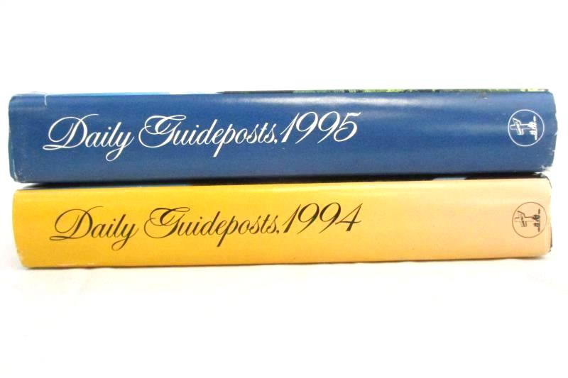 Daily Guideposts 1994 and 1995 Spirit Lifting Thoughts for Every Day of the Year