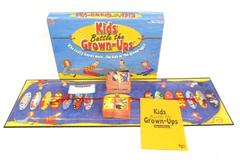 University Games Kids Battle The Grown Ups Board Game Trivia Ages 8 And Up Used