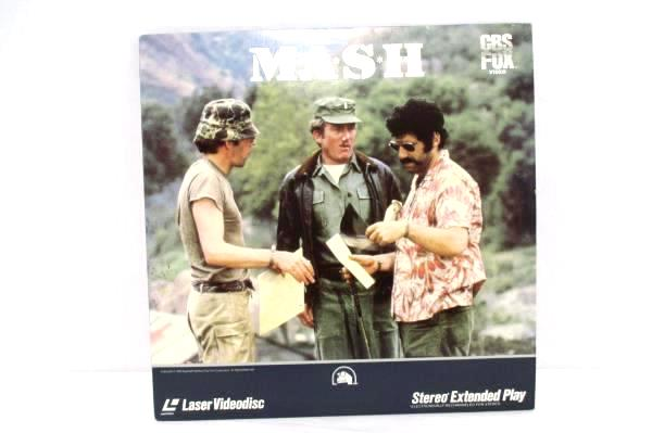 1969 MASH A Superstar Is Born Laser Video Disc CBS Fox Stereo Extended Play