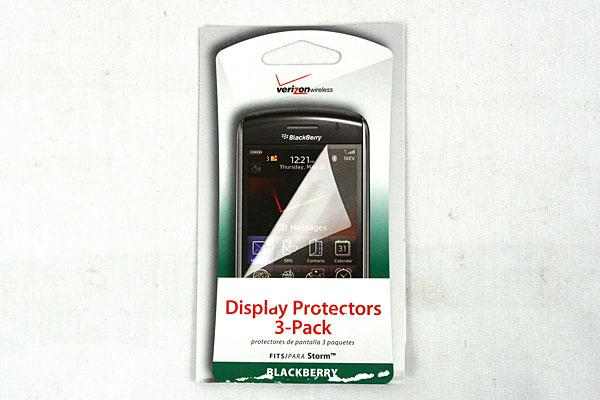 BLACKBERRY Verizon Wireless Display Protectors 3-Pack