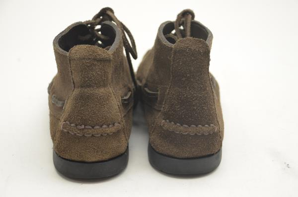 BROOKS BROTHERS Womens Leather Lace Up Shoes Moccasins Brown Size 4 D