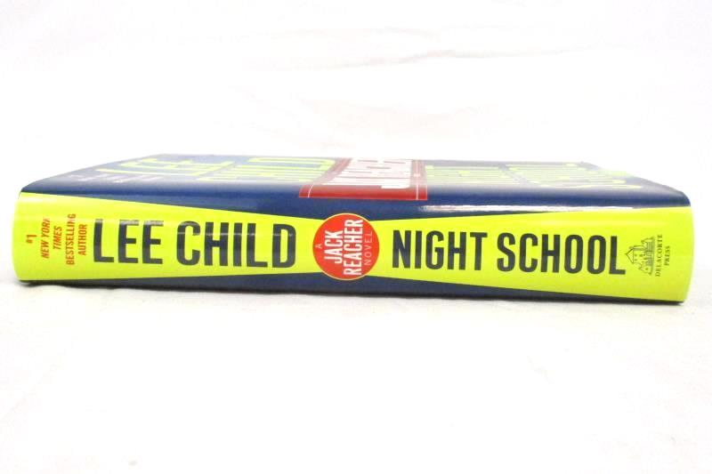 21 Night School A Jack Reacher Novel by Lee Child 2016 Hardcover 1st Edition