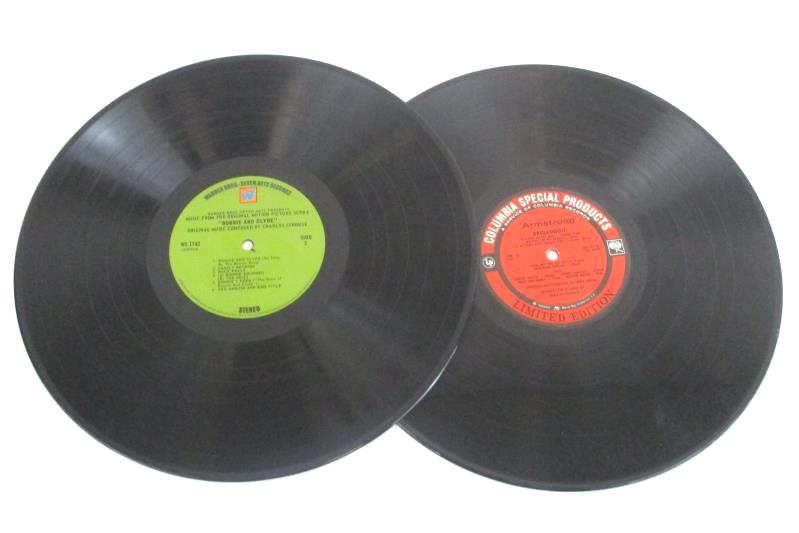 Lot of 5 Vinyl 33RPM Records Musical Soundtrack Brigadoon West Side Story Zorba