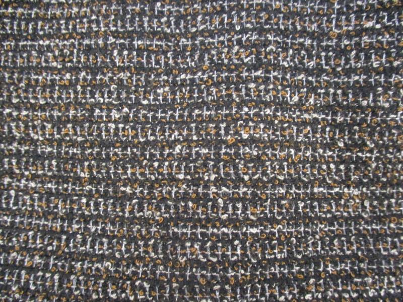 Halogen Women's Tweed Pencil Skirt Exposed Back Zipper Black Tan White Size 4