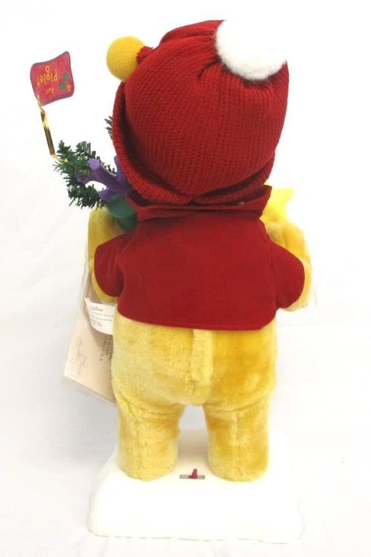 Telco Winnie The Pooh Motionettes Animated Christmas Figure Lights Moves 16 Inch