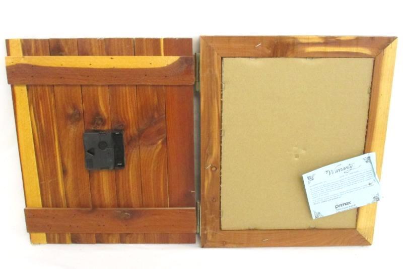 Keota Original Rustic Wood Frame Clock Religious The Difference Quartz Orig Box