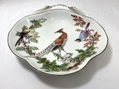 Mottahedeh Chelsea Bird Shell Dish Williamsburg Vista Alegre Porcelain Portugal
