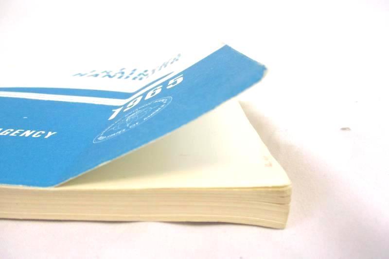 Vintage 1972 Flight Training Handbook Federal Aviation Agency Paperback