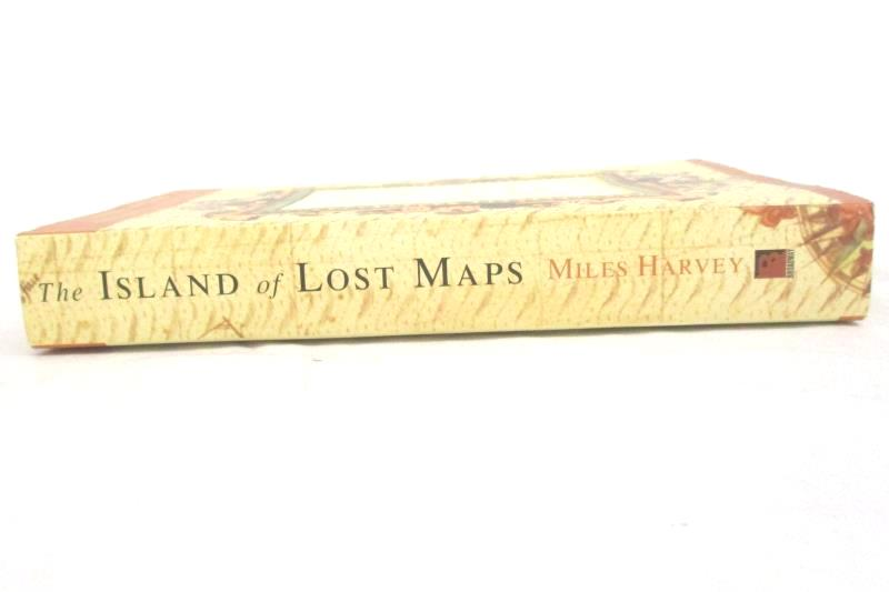 Miles Harvey The Island Of Lost Maps A True Story of Cartographic Crime 2001