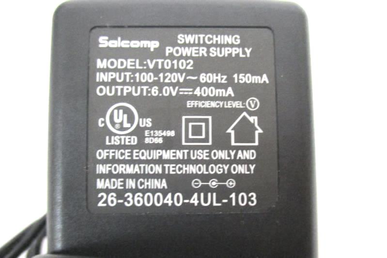 AT&T CL82450 DECT 6.0 Cordless Phone Main Base Replacement AC Power Supply