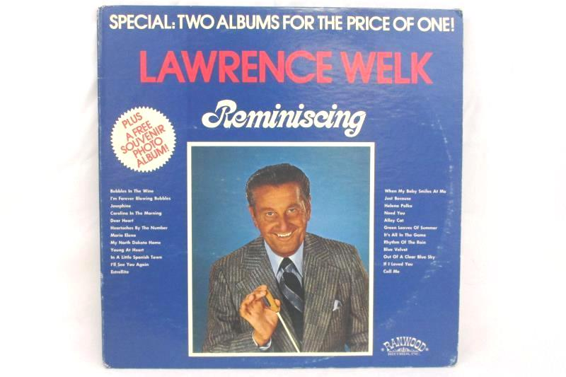Lawrence Welk Reminiscing 12 Inch 33 RPM Two Album LP Record Set R 5001