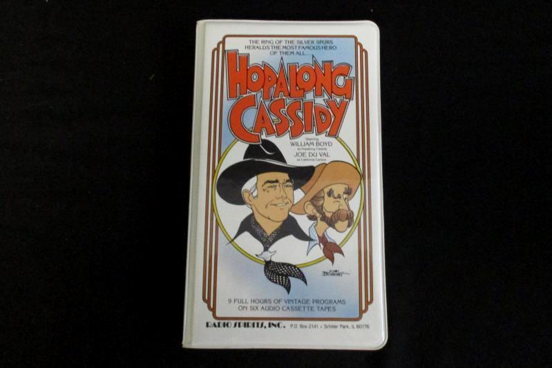 Hopalong Cassidy 6 Audio Cassette Tapes Vintage Programs William Boyd Joe Du Val