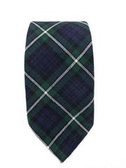 Lochcarron Highlander Collection Scottish Tartan Neck Tie Clan Lamont Plaid