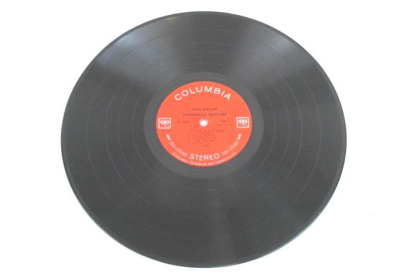 Bob Dylan Nashville Skyline 1974 Vinyl 12in 33rpm LP Record KCS 9825