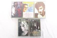Lot of 5 Rock Cassette Tapes Come On The Wallflowers Buddy Holly Kd Lang Lenny