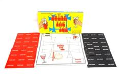 Vintage Topco Adult Board Party Game Drink Tac Toe 2 Plus Players