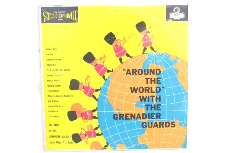 Around The World With The Grenadier Guards Vinyl LP Record PS-180