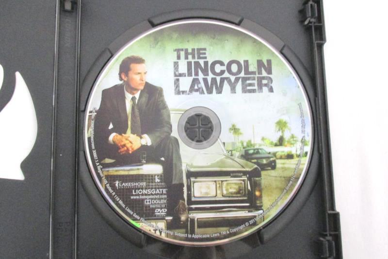 The Lincoln Lawyer DVD Matthew McConaughey Marisa Tomei Lionsgate 2011
