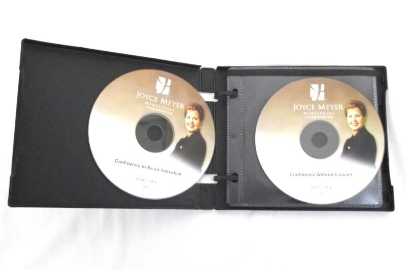 JOYCE MEYER Confidence Freedom To Be Yourself 4 CD Series