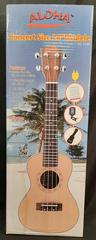 "Aloha Ail 214R Concert 24"" Ukulele Ashley Entertainment Corp. Wooden Y201706"