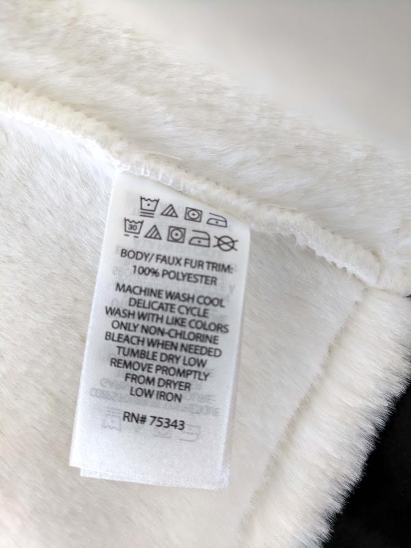 ISAAC MIZRAHI Faux Fur Vest White Faux Suede Toddler Little Girl's 2T New