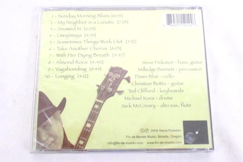 Sometimes Things Work Out By Steve Pinkston And Friends Sealed CD 2009