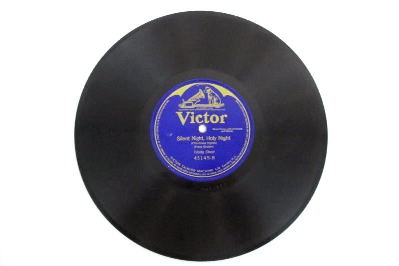 Lucy Isabelle Marsh Trinity Choir 78 rpm Victor Holy Night 10 Inch 45145