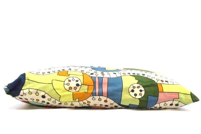 Ikea Unni Decorative Rectangle Throw Pillow Geometric Pillowcase Zips Washable