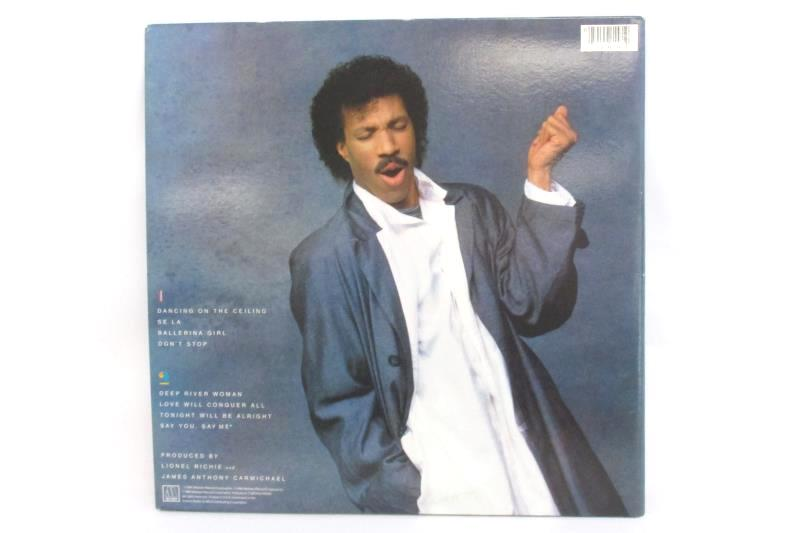 Lionel Richie Dancing On The Ceiling 1986 Vinyl 12in 33rpm LP Record 6158MLA
