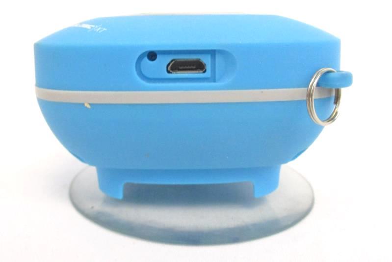 Soundlogic XT Splash Proof Mini Bluetooth Speaker Portable Blue