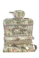 4 Piece Fifth Avenue Tapestry Luggage Set With Keys With Original Tags