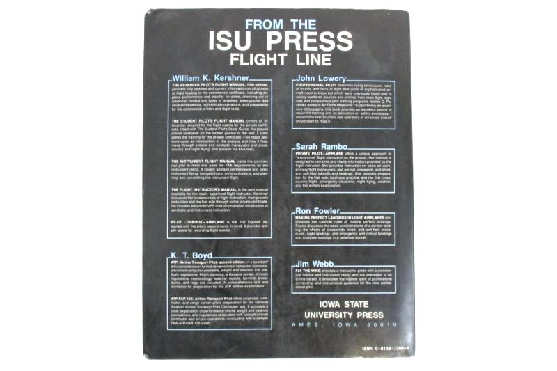 The Advanced Pilot's Flight Manual William K Kershner 1990 5th Edition ISU Press