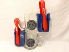 Set of 2 Nabisco Oreo Cookie Mugs with Attachable Cookie Holder Milk Dunking