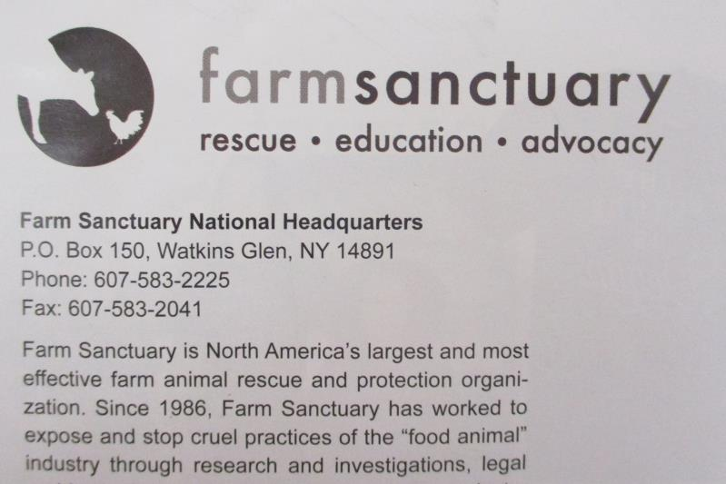 Farm Sanctuary A Guide To Complete Vegan Living Fall Winter 2018