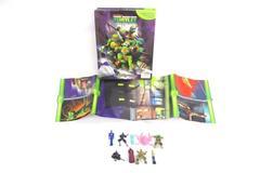 Teenage Mutant Ninja Turtles My Busy Book 2013 Phidal Book Playmat 9 Figurines