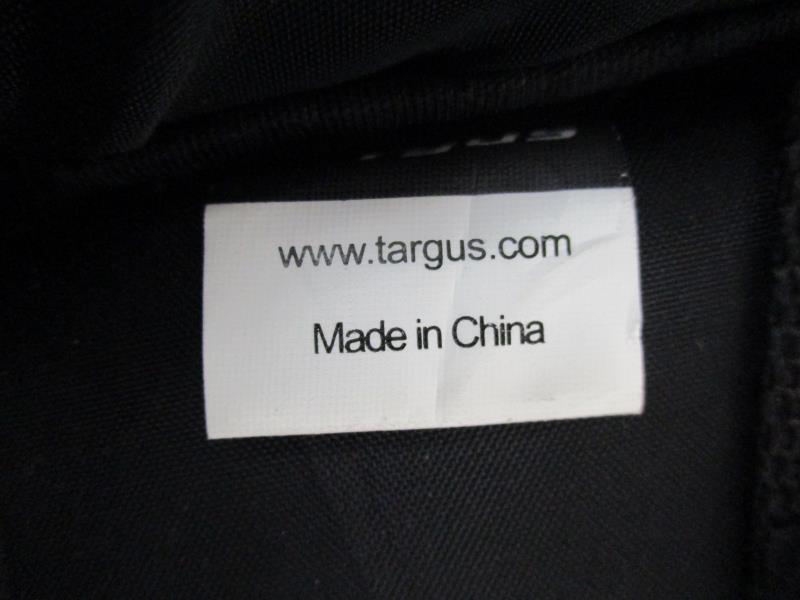 Targus Small Laptop Bag Tablet 11x9 Black Silver Travel Nylon Shoulder Strap