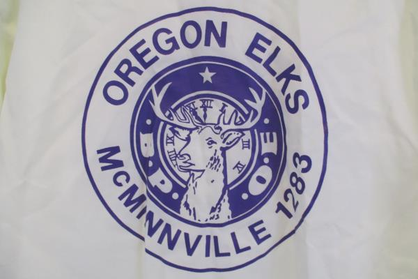 Vintage Oregon Elks McMinnvillle Capricorn Jacket Monogram Lee Men's Size M